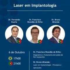 "Imagem da notícia: S.I.N. promove debate sobre ""Laser em Implantologia"""